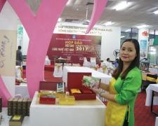 SH Trà tại Hội chợ Làng Nghề VN 2017