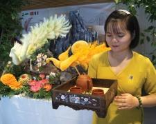 Sh Trà  tham dự Ngày Ẩm thực Việt Nam tai Pháp