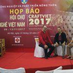 Tham dự Hội chợ Làng nghề Việt Nam năm 2017