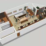 Mẫu thiết kế trà quán