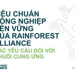 Tiêu chuẩn Nông nghiệp bền vững của RAINFOREST ALLIANCE- P.Cuối